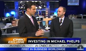 Authenicating on CNBC