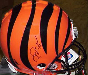 Autographed Peter Warrick