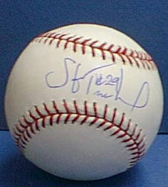 Autographed Steve Trachsel