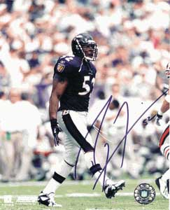 Autographed Ray Lewis