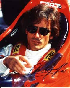 Autographed Arie Luyendyk