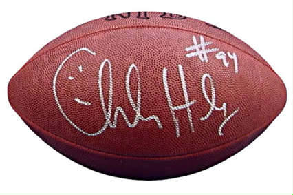 Autographed Charles Haley