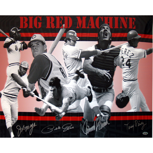 Autographed Big Red Machine