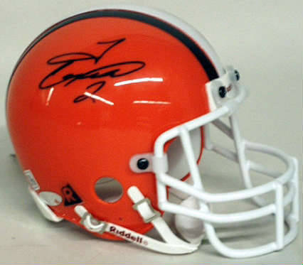 Autographed Tim Couch