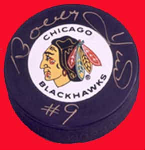 Autographed Bobby Hull