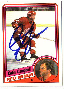 Autographed Colin Campbell