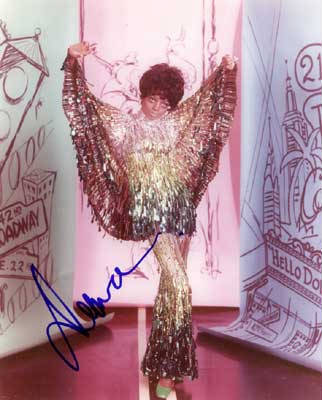 Autographed Diana Ross
