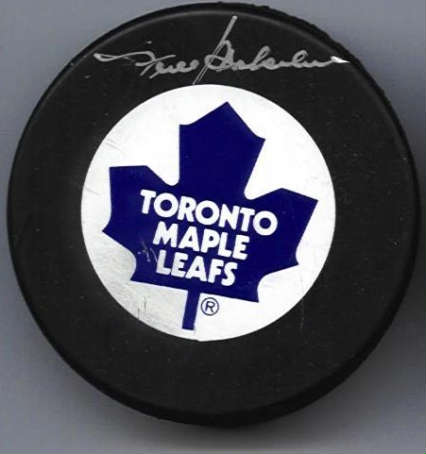 Autographed Frank Mahovlich