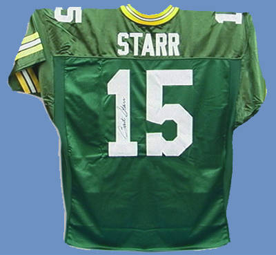 Autographed Bart Starr