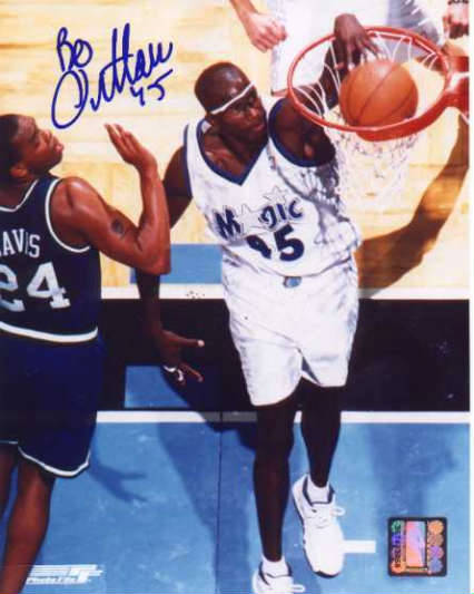 Autographed Bo Outlaw