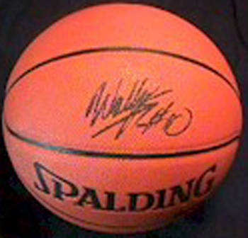 Autographed Wally Szczerbiak