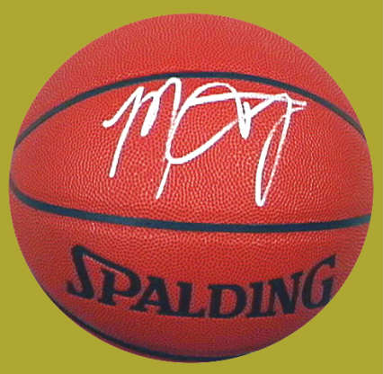 Autographed Marcus Camby