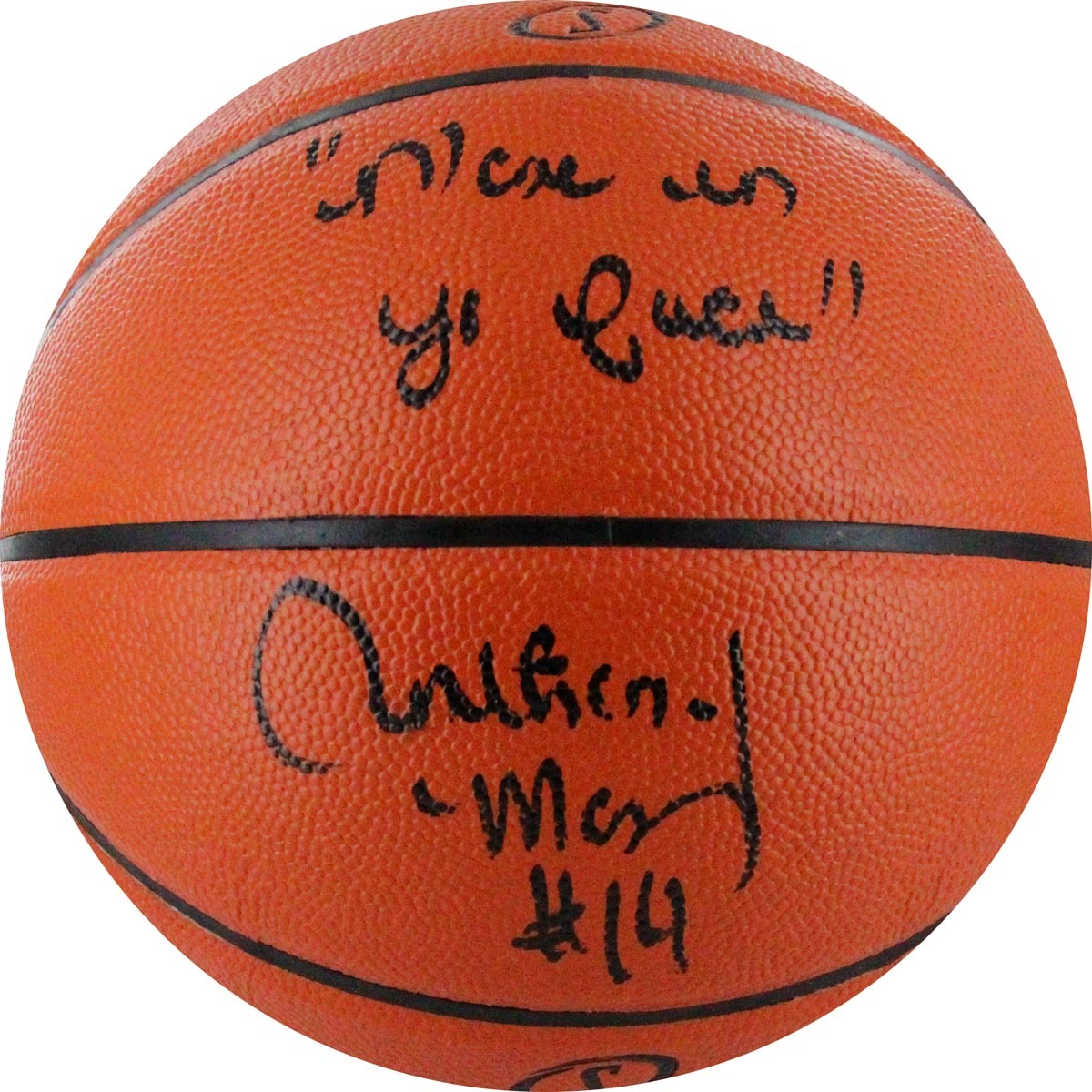 Autographed Anthony Mason