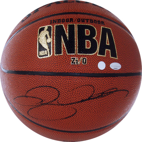 Autographed Ray Allen