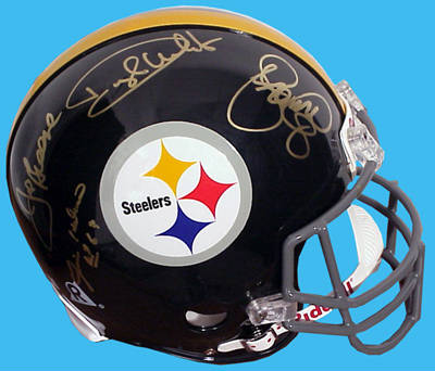 Autographed Steel Curtain
