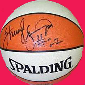 Autographed Sheryl Swoopes