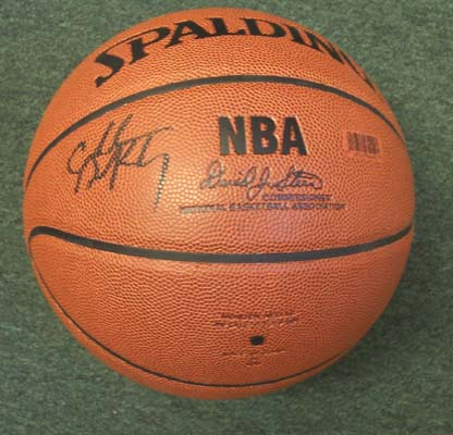 Autographed Charles Barkley