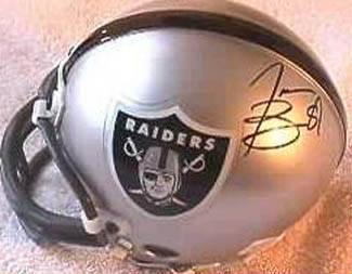 Autographed Tim Brown