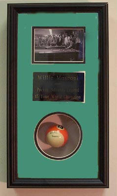 Autographed Willie Mosconi