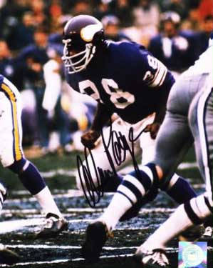 Autographed Allan Page