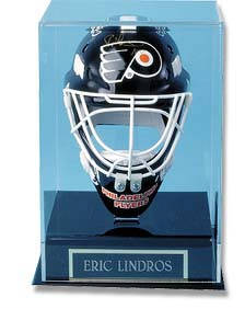 Autographed Mini Goalie Mask Display