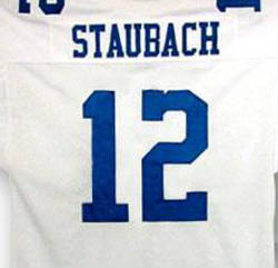Autographed Roger Staubach