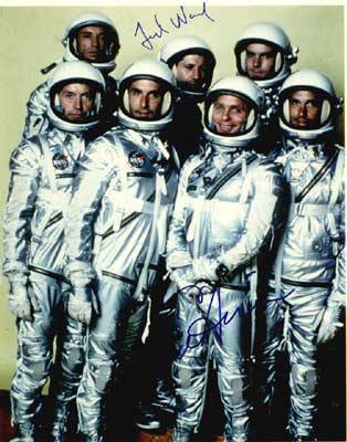 Autographed The Right Stuff