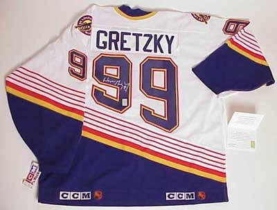 Wayne Gretzky autographed official St. Louis Blues hockey jersey 48c00db8f54