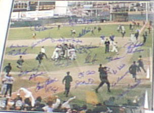 Autographed 1969 Miracle New York  Mets