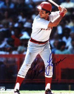 Autographed Fred Lynn