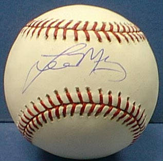 Autographed Lee May