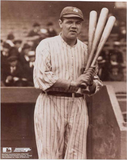 Autographed Babe Ruth
