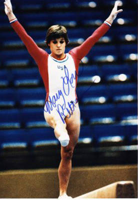 Autographed Mary Lou Retton