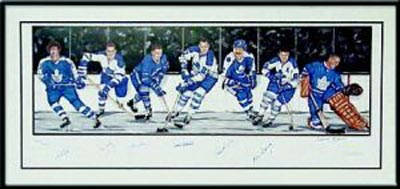 Autographed Toronto Maple Leafs Legends