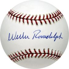 Autographed Willie Randolph