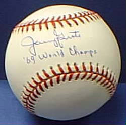 Autographed Jerry Grote