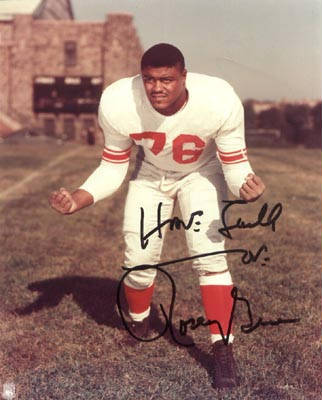 Autographed Rosey Grier