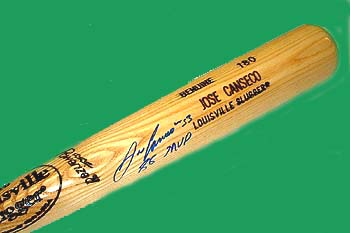 Autographed Jose Canseco