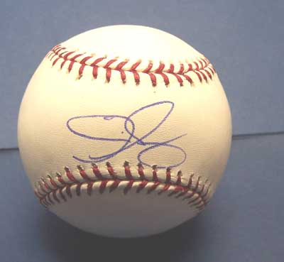 Autographed Eric Gagne