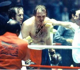 Autographed Chuck Wepner