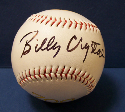 Autographed Billy Crystal