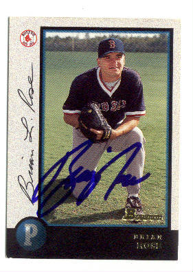 Autographed Brian Rose