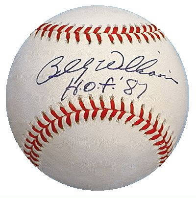 Autographed Billy Williams