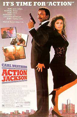 Action Jackson Unsigned Movie Poster Autographed Poster