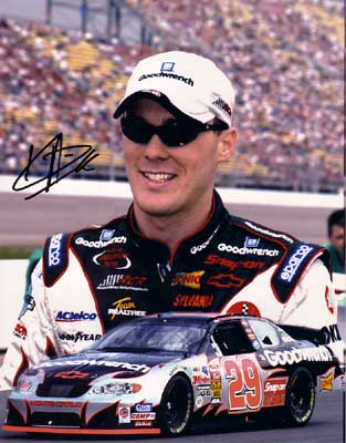 Autographed Kevin Harvick