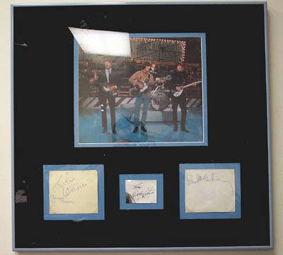 Autographed The Beatles