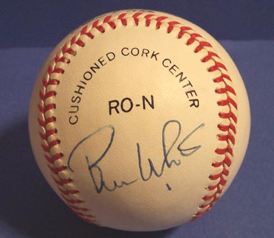 Autographed Bill White