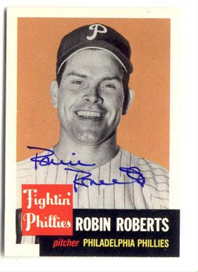 Autographed Robin Roberts