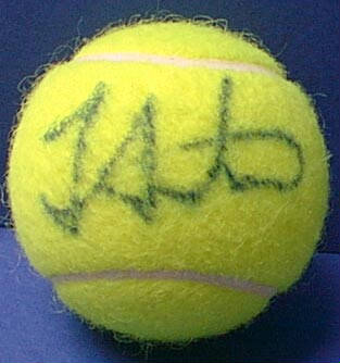 Autographed Tracy Austin