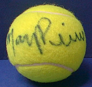 Autographed Mary Pierce